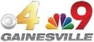 CBS 4 NBC 9 Gainesville logo