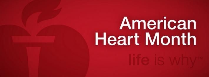 Heart Month Header graphic